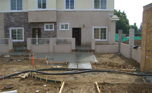 Concrete Footings Repair Near Tustin, CA