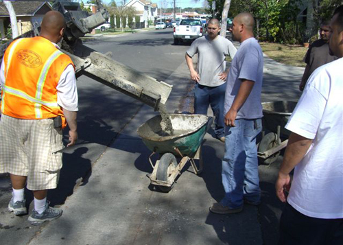 On-Site Concrete Work