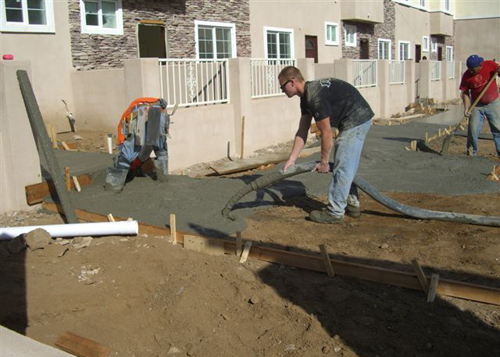 Building Concrete Floor Slab