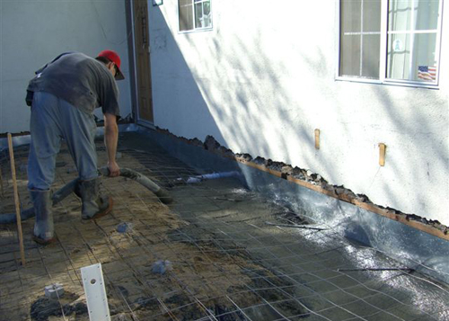 Concrete Floor Installation